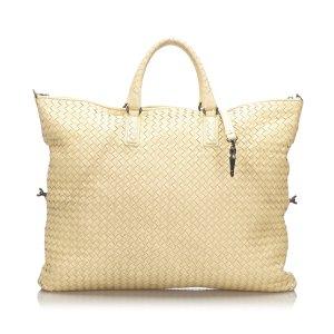 Bottega Veneta Large Leather Intrecciato Tote Bag