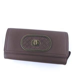 Bottega Veneta Leather Bifold Long Wallet