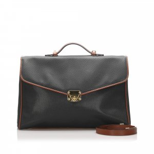 Bottega Veneta Briefcase black leather