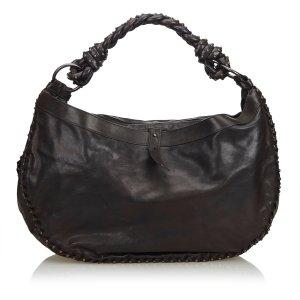 Bottega Veneta Hobos black leather