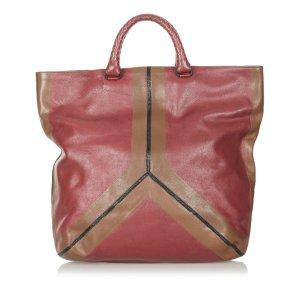 Bottega Veneta Sac fourre-tout rosé cuir