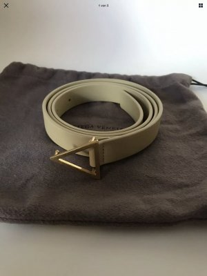 Bottega Veneta Cintura di pelle oro Pelle