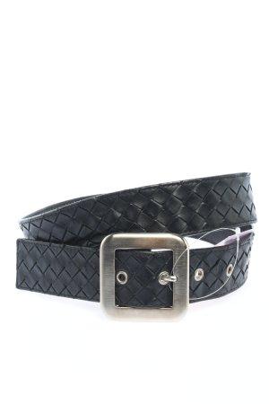 Bottega Veneta Leather Belt black casual look