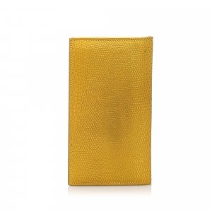 Bottega Veneta Lizard Leather Wallet