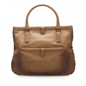 Bottega Veneta Marco Polo Leather Tote Bag
