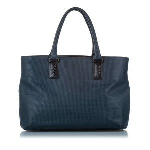 Bottega Veneta Torebka typu tote ciemnoniebieski Włókno chlorowe