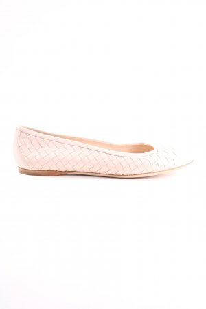 Bottega Veneta Mary Jane Ballerinas creme Casual-Look