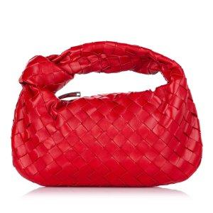 Bottega Veneta Mini Intrecciato Jodie Leather Handbag