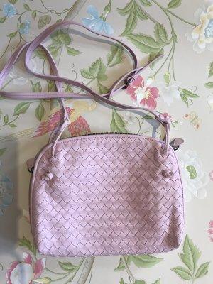 Bottega Veneta Nodini Crossbody Tasche rosa