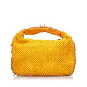 Bottega Veneta Sac hobo jaune nylon