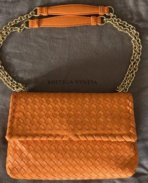 Bottega Veneta Crossbody bag orange leather