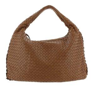 Bottega Veneta Perforated Intrecciato Leather Hobo Bag