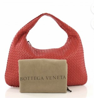 Bottega Veneta Sac hobo rouge