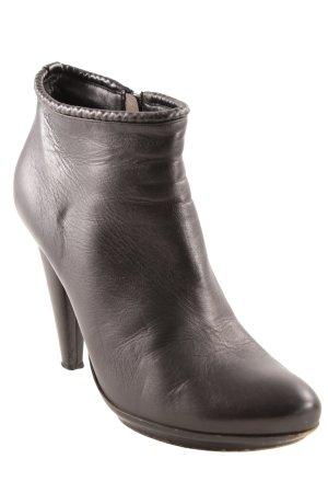 Bottega Veneta Reißverschluss-Stiefeletten schwarz Business-Look