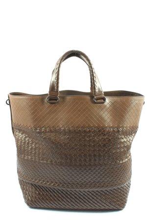 Bottega Veneta Shopper brun style décontracté