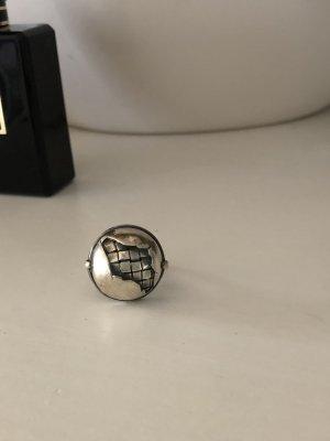 Bottega Veneta Silver Ring silver-colored