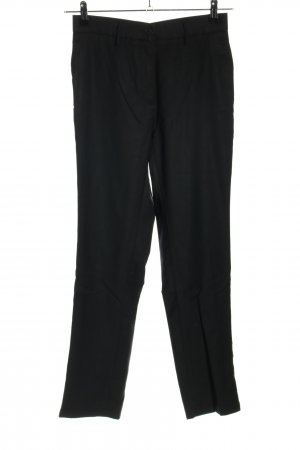Bottega Veneta Spodnie materiałowe czarny Wzór w paski W stylu casual