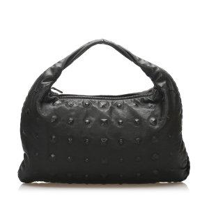 Bottega Veneta Studded Leather Hobo Bag