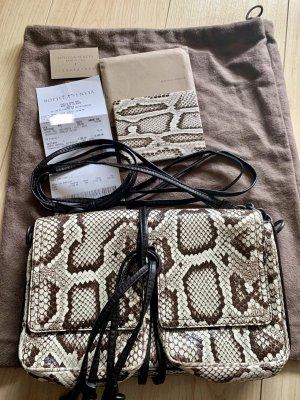 Bottega Veneta Crossbody bag natural white-brown leather