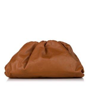 Bottega Veneta Bolso de mano marrón Cuero