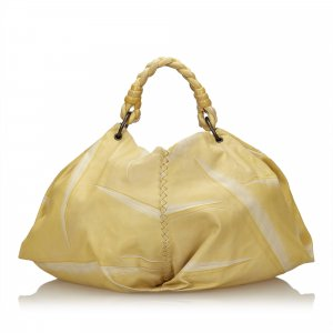 Bottega Veneta Hobos yellow leather