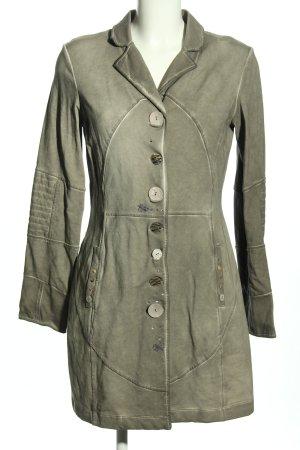 Bottega Veneta Between-Seasons-Coat light grey casual look