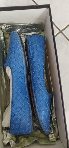 Bottega Veneta Slingback ballerina's blauw