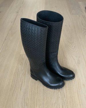 Bottega Veneta Wellington laarzen zwart