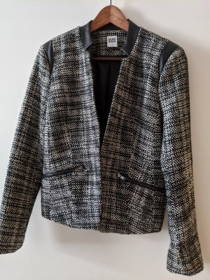 Vero Moda Tweed Blazer white-black