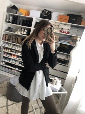 H&M Tweed Blazer black