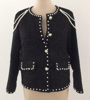 Blazer Tweed negro