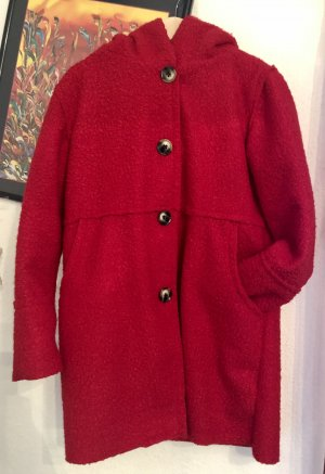 1.2.3 Paris Manteau court rouge fluo-rouge