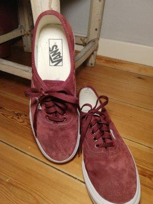 Vans Lace-Up Sneaker carmine-bordeaux
