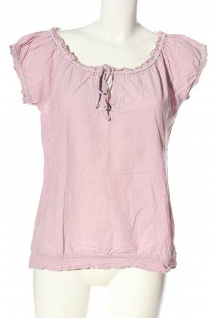 Boule Short Sleeved Blouse pink casual look