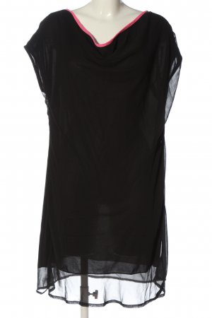 Boule Jurk met korte mouwen zwart elegant