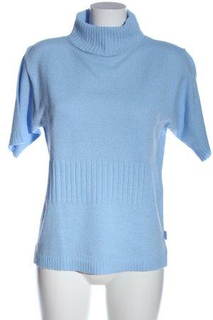 Boule Short Sleeve Sweater blue casual look