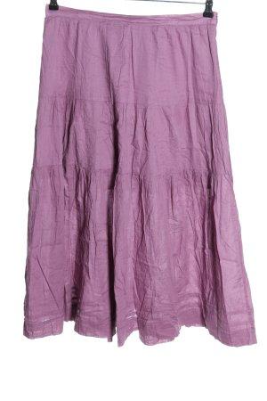 Boule Maxi Skirt lilac casual look