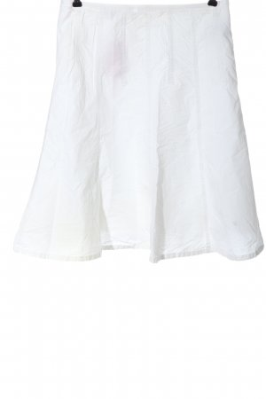 Boule High Waist Skirt white casual look