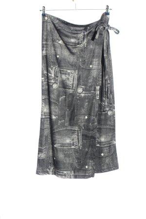 Boule Midi Skirt light grey-white casual look