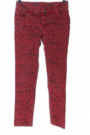 Boule Tube Jeans red-black allover print casual look