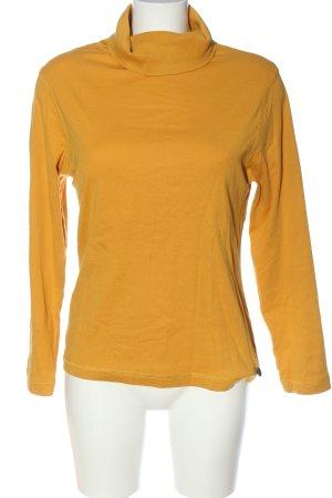 Boule Koszulka z golfem bladożółty W stylu casual