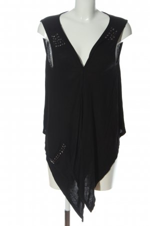 Boule Knitted Vest black casual look