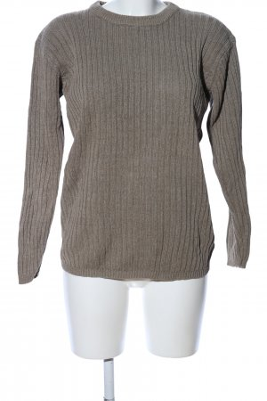 Strickpullover braun Casual-Look