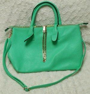 Boutique Handtasche grün mint türkis