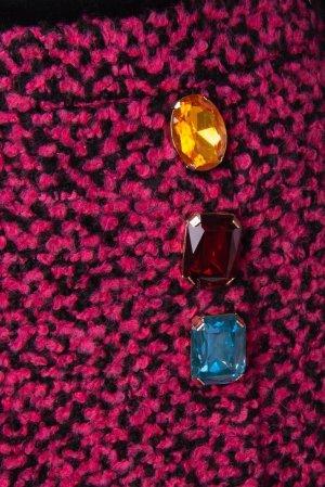 Boutique Moschino Spódnica mini Wielokolorowy Tkanina z mieszanych włókien