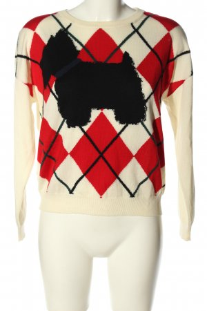 Boutique Moschino Knitted Sweater graphic pattern casual look