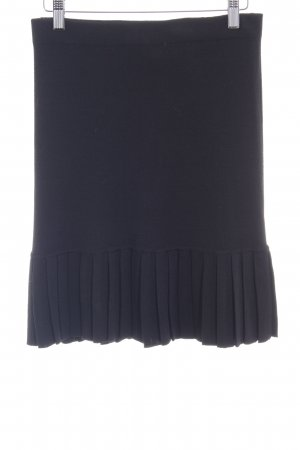 Boutique Moschino Knitted Skirt black elegant