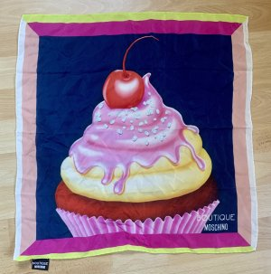 Boutique Moschino Panno di seta multicolore Seta