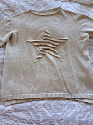 Boutique Pullover creme beige