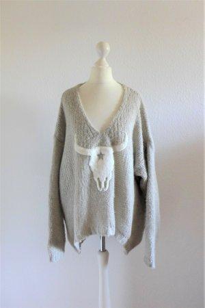 Boutique Sweter z grubej dzianiny Wielokolorowy